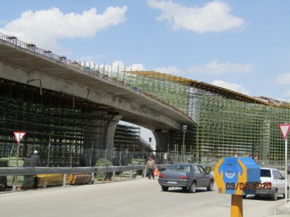 پلی که به یک معضل تبدیل شد / تصاویر
