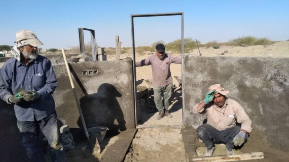 همت بلند جهادی ها از «همدان» تا «کنارک» / ساخت  کپرها برای سیل زدگان سیستان و بلوچستان