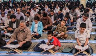 آئین جزء خوانی قرآن کریم در ماه مبارک رمضان