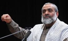 """سردار نقدی در یادواره ی شهید """"مصطفی احمدی روشن در همدان:"""