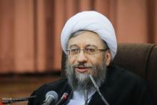 آیتالله آملی لاریجانی در جمع مسئولان عالی قضایی