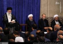 رهبر انقلاب در دیدار مسئولان و کارگزاران نظام