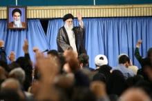 رهبر انقلاب در دیدار خانوادههای شهدای مرزبانی و مدافع حرم