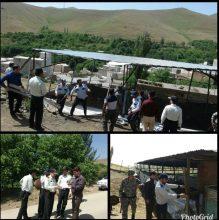 رفع تصرف از اراضی دولتی در روستای دیویجین