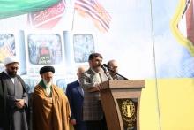 مبارزه با استکبار تمامشدنی نیست/امروز پرچم ایران به عنوان قدرت منطقه برافراشته شده است