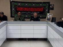 مراسم شب هفت سردار شهید سلیمانی در حسینیه امام (ره) همدان برگزار میشود