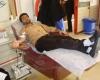 دانشجویان بسیجی خون خود را اهدا کردند+تصاویر