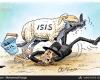 کاریکاتور/داعش اسراییل را تهدید کرد!