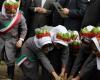 کاشت درخت به یاد شهدای انقلاب، دفاع مقدس و مدافع حرم در همدان+تصاویر