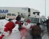 امداد رسانی هلال احمر همدان به 464 گرفتار در برف