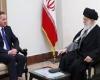 هبر معظم انقلاب اسلامی در دیدار نخستوزیر سوئد
