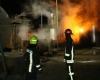 آتش سوزی در کارخانه روغن نهاوند