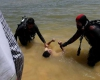 تیم غواصی جسد یک جوان را از سد شنجور رزن خارج کرد