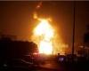 انفجار در بندر ماهشهر