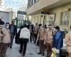 ضد عفونی وپاکسازی  برای مقابله با ویروس کرونا توسط کمیته خادم الشهداء و موسسه راویان فتح در همدان