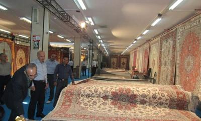 نمایشگاه تخصصی فرش دستباف در همدان